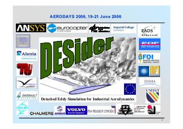desider-a-hybrid-rans-les-methods-aeronautics-days-2006