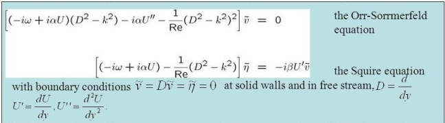 Orr-Sommerfeld+and+Squire+equations