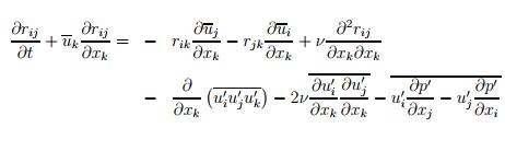 RSM transport equation