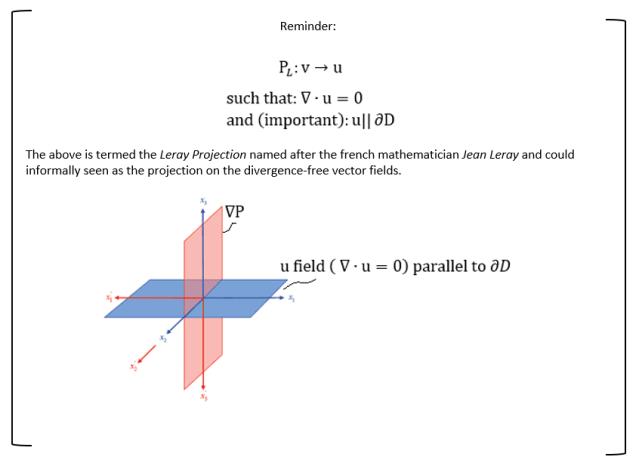 Leray Projection 2